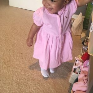 Dress with romper bottom.  18 months